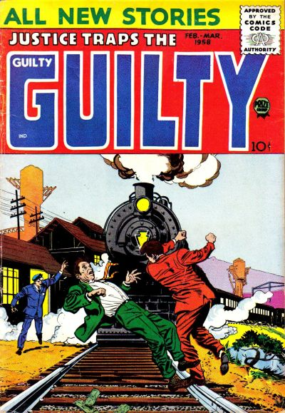 Cover for Justice Traps the Guilty (Prize, 1947 series) #v11#1 [91]