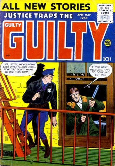 Cover for Justice Traps the Guilty (Prize, 1947 series) #v11#2 [92]