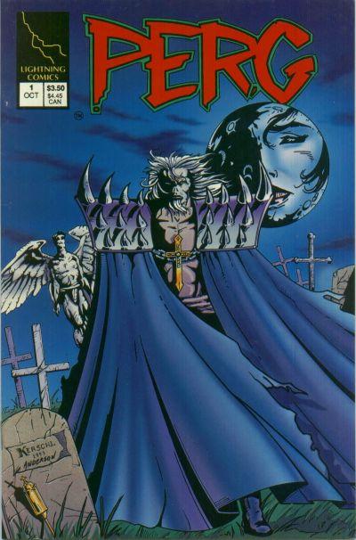 Cover for Perg (Lightning Comics [1990s], 1993 series) #1 [Platinum]
