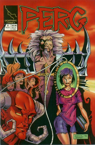 Cover for Perg (Lightning Comics [1990s], 1993 series) #2
