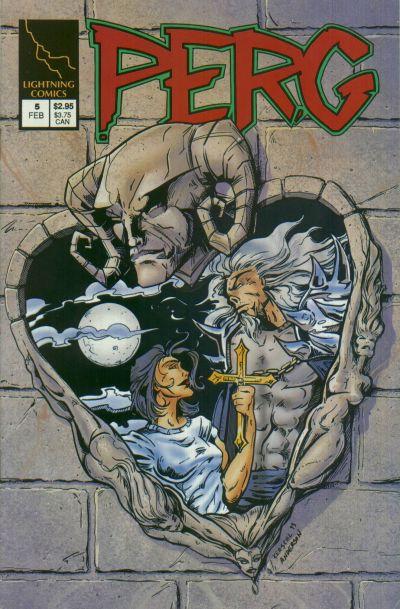 Cover for Perg (Lightning Comics [1990s], 1993 series) #5