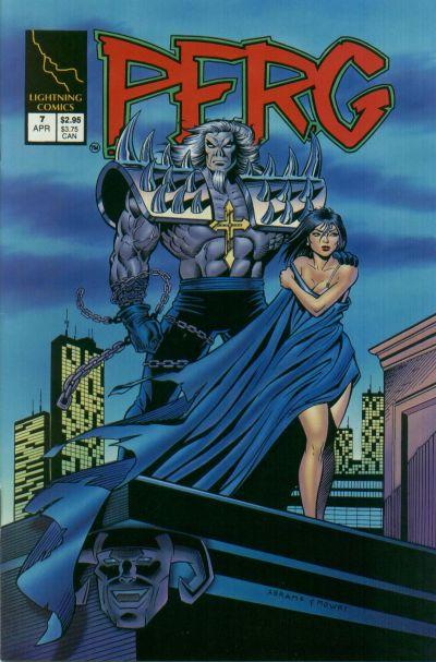 Cover for Perg (Lightning Comics [1990s], 1993 series) #7