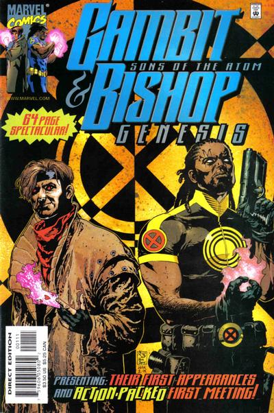 Cover for Gambit & Bishop: Genesis (Marvel, 2001 series) #1