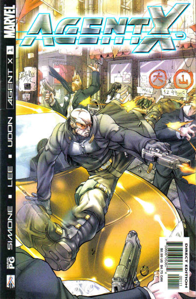 Cover for Agent X (Marvel, 2002 series) #1