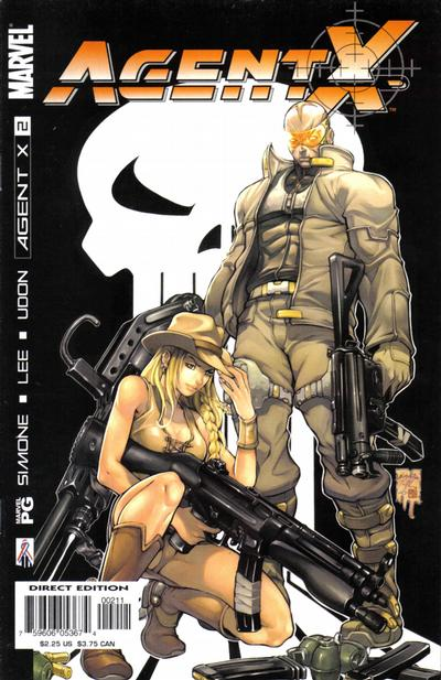 Cover for Agent X (Marvel, 2002 series) #2