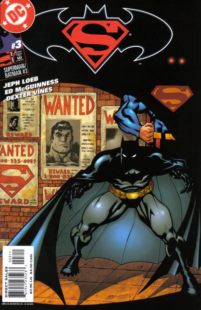 Cover for Superman / Batman (DC, 2003 series) #3