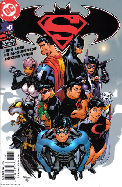 Cover for Superman / Batman (DC, 2003 series) #5 [Direct Sales Edition]