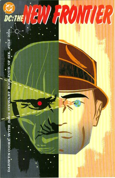 Cover for DC: The New Frontier (DC, 2004 series) #4