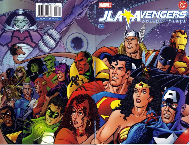 Cover for JLA / Avengers (Marvel, 2003 series) #1