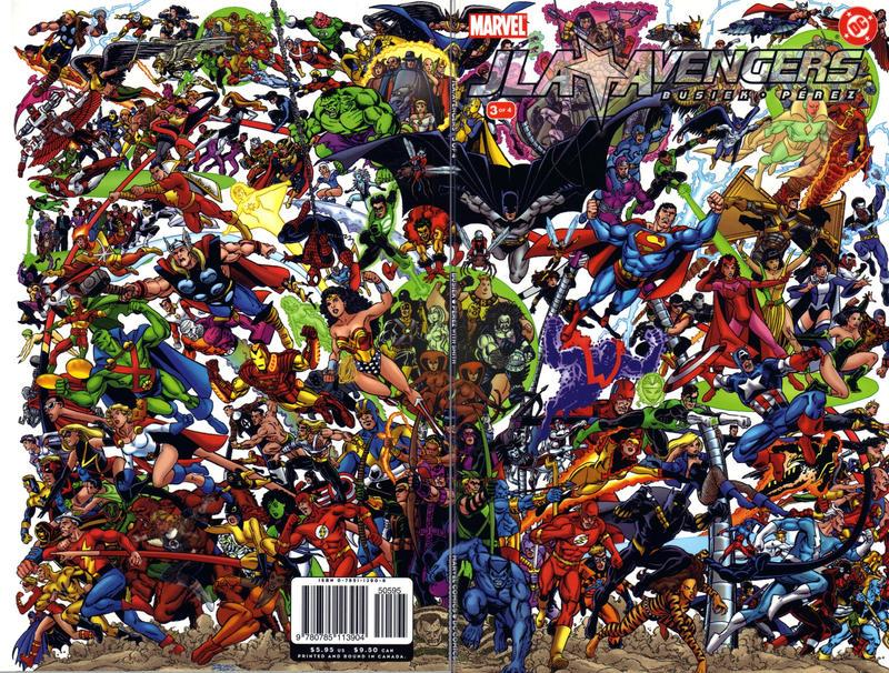 Cover for JLA / Avengers (Marvel, 2003 series) #3