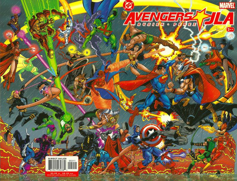 Cover for Avengers / JLA (DC, 2003 series) #2