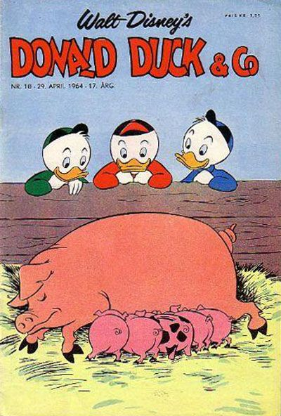Cover for Donald Duck & Co (Hjemmet / Egmont, 1948 series) #18/1964