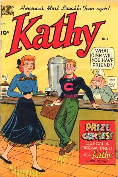 Cover for Kathy (Pines, 1949 series) #1