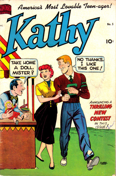 Cover for Kathy (Pines, 1949 series) #5