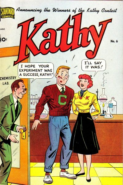 Cover for Kathy (Pines, 1949 series) #6