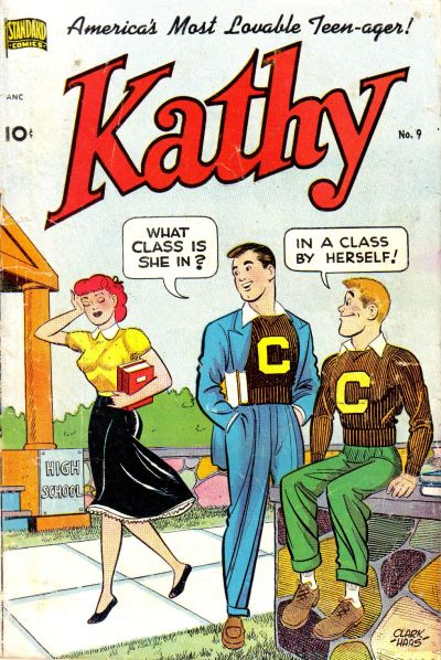 Cover for Kathy (Pines, 1949 series) #9