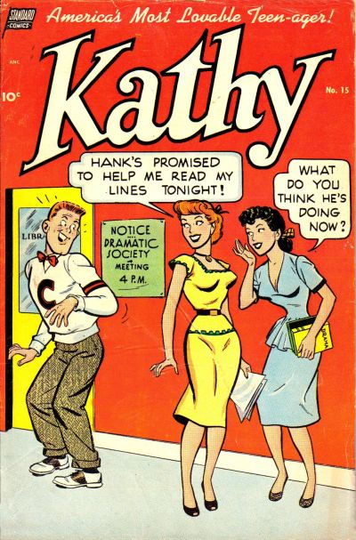Cover for Kathy (Pines, 1949 series) #15