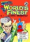 Cover for Superman Presents World's Finest Comic Monthly (K. G. Murray, 1965 series) #1
