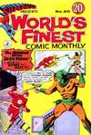 Cover for Superman Presents World's Finest Comic Monthly (K. G. Murray, 1965 series) #20
