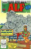 Cover for Alf Annual (Marvel, 1988 series) #1 [Direct Edition]