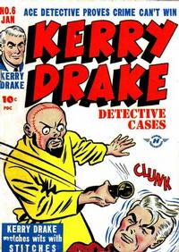 Cover Thumbnail for Kerry Drake Detective Cases (Harvey, 1948 series) #6