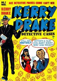 Cover Thumbnail for Kerry Drake Detective Cases (Harvey, 1948 series) #7