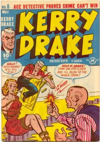 Cover Thumbnail for Kerry Drake Detective Cases (Harvey, 1948 series) #8