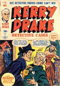Cover Thumbnail for Kerry Drake Detective Cases (Harvey, 1948 series) #11