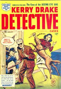 Cover Thumbnail for Kerry Drake Detective Cases (Harvey, 1948 series) #18