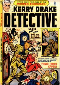 Cover Thumbnail for Kerry Drake Detective Cases (Harvey, 1948 series) #31