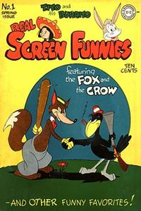Cover Thumbnail for Real Screen Funnies (DC, 1945 series) #1