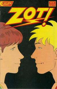 Cover Thumbnail for Zot! (Eclipse, 1984 series) #35