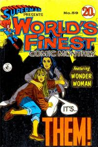 Cover Thumbnail for Superman Presents World's Finest Comic Monthly (K. G. Murray, 1965 series) #59