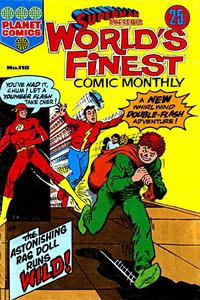 Cover Thumbnail for Superman Presents World's Finest Comic Monthly (K. G. Murray, 1965 series) #118