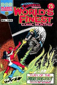 Cover Thumbnail for Superman Presents World's Finest Comic Monthly (K. G. Murray, 1965 series) #120
