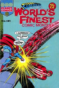 Cover Thumbnail for Superman Presents World's Finest Comic Monthly (K. G. Murray, 1965 series) #121