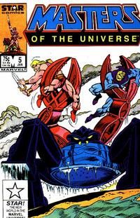 Cover Thumbnail for Masters of the Universe (Marvel, 1986 series) #5