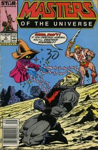 Cover Thumbnail for Masters of the Universe (Marvel, 1986 series) #9