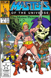 Cover Thumbnail for Masters of the Universe The Motion Picture (Marvel, 1987 series) #1