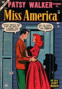 Cover Thumbnail for Miss America (Marvel, 1953 series) #53
