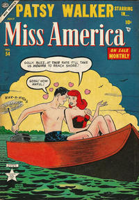 Cover Thumbnail for Miss America (Marvel, 1953 series) #54
