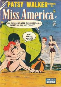 Cover Thumbnail for Miss America (Marvel, 1953 series) #56