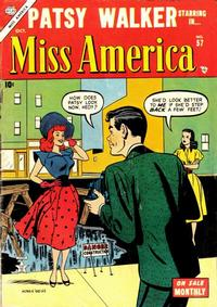 Cover Thumbnail for Miss America (Marvel, 1953 series) #57