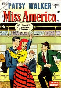 Cover Thumbnail for Miss America (Marvel, 1953 series) #60