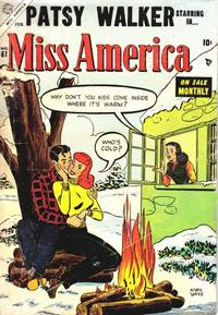 Cover Thumbnail for Miss America (Marvel, 1953 series) #61