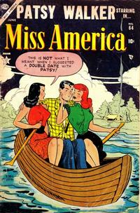Cover Thumbnail for Miss America (Marvel, 1953 series) #64