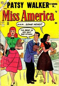 Cover Thumbnail for Miss America (Marvel, 1953 series) #65