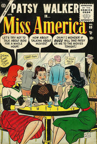 Cover Thumbnail for Miss America (Marvel, 1953 series) #69