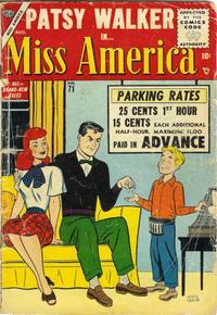 Cover Thumbnail for Miss America (Marvel, 1953 series) #71
