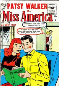 Cover Thumbnail for Miss America (Marvel, 1953 series) #72